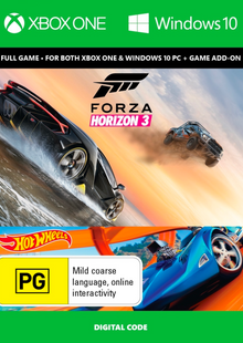 Forza Horizon 3 + Hot Wheels Xbox One/PC cheap key to download