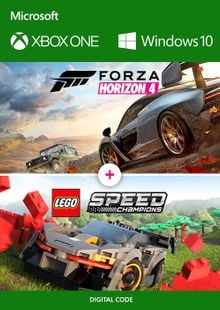 Forza Horizon 4 + Lego Speed Champions Xbox One/PC billig Schlüssel zum Download