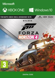Forza Horizon 4: Deluxe Edition Xbox One/PC UK cheap key to download