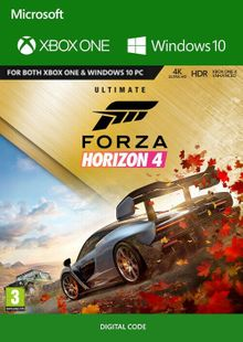 Forza Horizon 4: Ultimate Edition Xbox One/PC (USA) cheap key to download