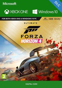 Forza Horizon 4 - Ultimate Upgrade Xbox One UK cheap key to download