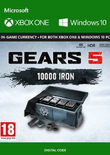 Gears 5: 10,000 Iron + 2,500 Bonus Iron Xbox One cheap key to download