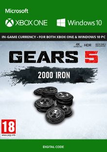 Gears 5: 2000 Iron + 250 Bonus Iron Xbox One cheap key to download