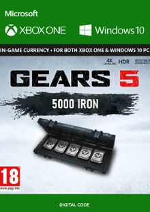 Gears 5: 5,000 Iron + 1,000 Bonus Iron Xbox One cheap key to download