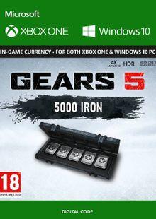 Gears 5: 5,000 Iron + 1,000 Bonus Iron Xbox One billig Schlüssel zum Download