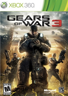 Gears of War 3 Xbox 360 billig Schlüssel zum Download