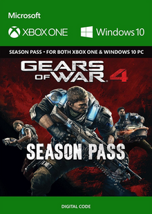 Gears of War 4 Season Pass Xbox One billig Schlüssel zum Download