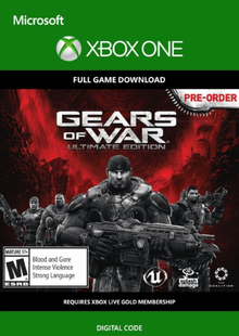 Gears of War: Ultimate Edition Xbox One billig Schlüssel zum Download