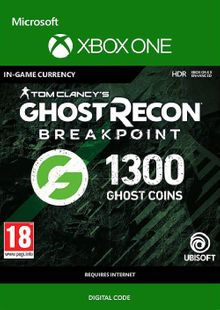 Ghost Recon Breakpoint: 1300 Ghost Coins Xbox One clé pas cher à télécharger
