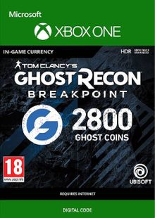 Ghost Recon Breakpoint: 2800 Ghost Coins Xbox One cheap key to download