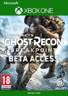 Tom Clancys Ghost Recon Breakpoint Beta Xbox One cheap key to download