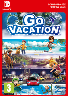 Go Vacation Switch clave barata para descarga
