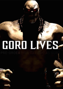 Mortal Kombat X PC Goro DLC cheap key to download