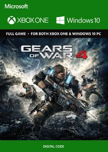 Gears of War 4 Xbox One / PC billig Schlüssel zum Download