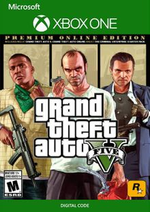 Grand Theft Auto V 5: Premium Online Edition Xbox One (UK) cheap key to download