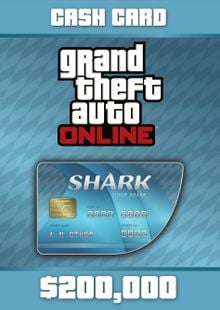 Grand Theft Auto V : Tiger Shark Card PC cheap key to download