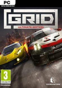 GRID: Ultimate Edition PC billig Schlüssel zum Download