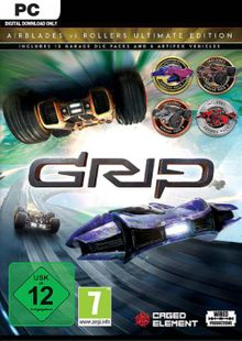 GRIP: Combat Racing - Rollers vs AirBlades Ultimate Edition PC cheap key to download
