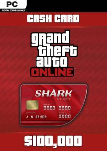 Grand Theft Auto - Red Shark Cash Card PC billig Schlüssel zum Download
