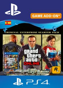 Grand Theft Auto Online - Criminal Enterprise Starter Pack PS4 (Spain) cheap key to download