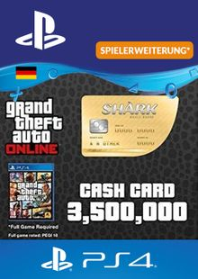 GTA Whale Shark Card PS4 (Germany) cheap key to download