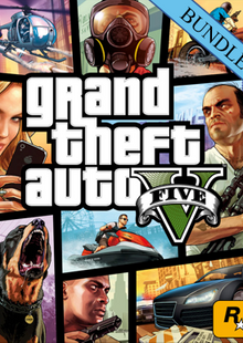 Grand Theft Auto V 5 - Great White Shark Card Bundle PC cheap key to download
