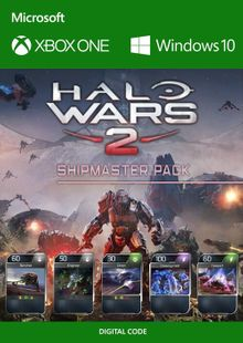 Halo Wars 2 Shipmaster Pack DLC Xbox One / PC billig Schlüssel zum Download