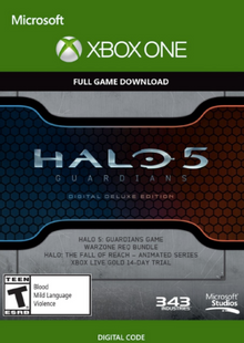 Halo 5 Guardians Digital Deluxe Edition Xbox One billig Schlüssel zum Download