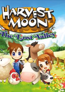 Harvest Moon: The Lost Valley Nintendo 3DS/2DS clé pas cher à télécharger