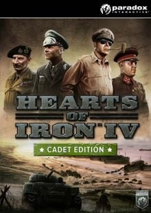 Hearts of Iron IV 4 Cadet Edition PC billig Schlüssel zum Download