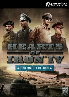 Hearts of Iron IV 4 Colonel Edition PC billig Schlüssel zum Download