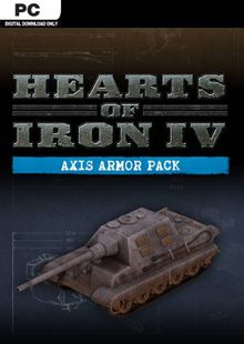 Hearts of Iron IV 4 PC: Axis Armor Pack DLC billig Schlüssel zum Download