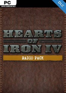 Hearts of Iron IV 4 PC: Radio Pack DLC billig Schlüssel zum Download