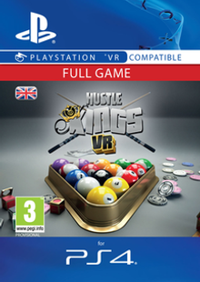 Hustle Kings VR PS4 cheap key to download