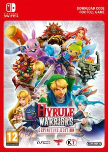 Hyrule Warriors: Definitive Edition Switch clé pas cher à télécharger