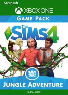 The Sims 4: Jungle Adventure Xbox One cheap key to download
