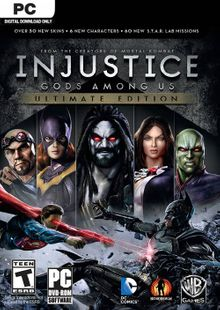 Injustice Gods Among Us - Ultimate Edition PC cheap key to download