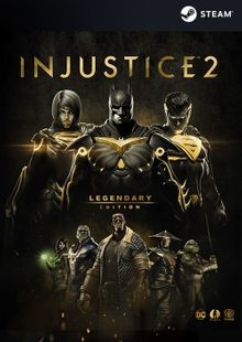 Injustice 2 Legendary Edition PC billig Schlüssel zum Download