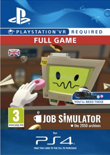 Job Simulator VR PS4 cheap key to download