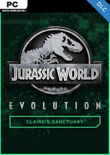 Jurassic World Evolution PC: Claire's Sanctuary DLC cheap key to download
