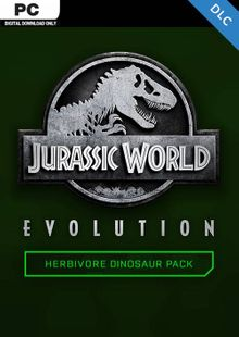 Jurassic World Evolution PC: Herbivore Dinosaur Pack DLC cheap key to download