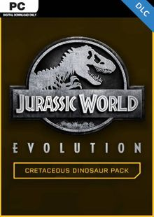 Jurassic World Evolution PC: Cretaceous Dinosaur Pack DLC billig Schlüssel zum Download