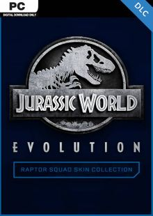 Jurassic World Evolution PC: Raptor Squad Skin Collection DLC billig Schlüssel zum Download