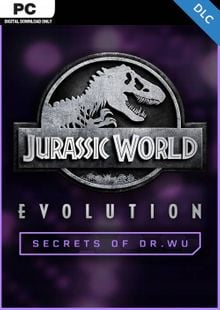 Jurassic World Evolution PC: Secrets of Dr Wu DLC cheap key to download