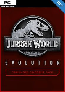 Jurassic World Evolution PC: Carnivore Dinosaur Pack DLC billig Schlüssel zum Download
