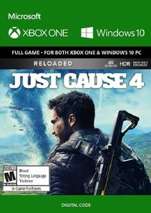 Just Cause 4: Reloaded Xbox One (UK) cheap key to download