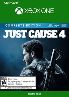 Just Cause 4 - Complete Edition Xbox One (UK) cheap key to download