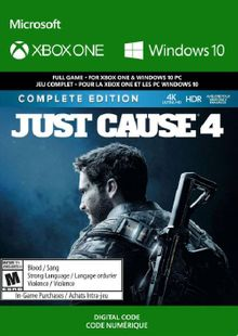 Just Cause 4 - Complete Edition Xbox One (WW) cheap key to download