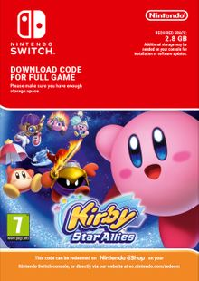 Kirby Star Allies Nintendo Switch (EU) clave barata para descarga