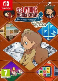 Layton's Mystery Journey: Katrielle and the Millionaires' Conspiracy - Deluxe Edition Switch (EU) clé pas cher à télécharger